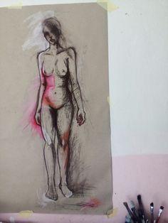 Drawing  #figurative #charcoal #body