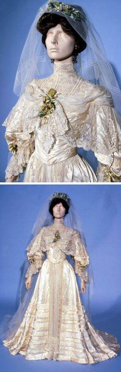 Lace Wedding Dresses Newcastle : Wedding dress fenwick ltd newcastle upon tyne england no date