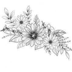 #flowertattoos