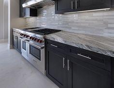 Dramatic Fantasy Brown Marble Countertops And Tile Flooring Home Decor Kitchen, New Kitchen, Home Kitchens, Kitchen Design, Modern Kitchens, Kitchen Ideas, Refacing Kitchen Cabinets, Kitchen Countertops, Kitchen Backsplash