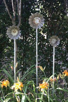 Jello mold flowers.