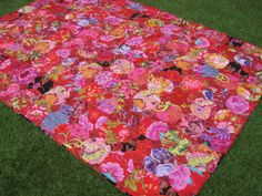 Flossie Teacakes: The Charlotte Bartlett quilt is finished