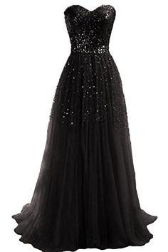 MisDress Sweetheart Long Women's Evening Ball Gown Party Prom Bridesmaid Dress (2, Black) MisDress http://www.amazon.com/dp/B00S0NICK4/ref=cm_sw_r_pi_dp_tj9Ywb07EQEFQ