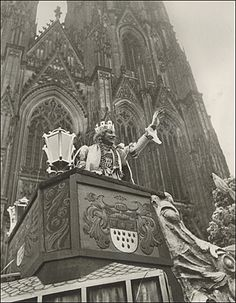 Jungfrau Kölner Karneval 1937 Josef Pütz Cologne Germany, Pisa, Catholic, Goth, Photos, Pictures, Europe, History, Painting