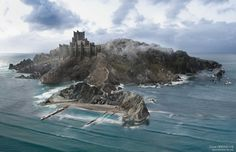 [EVERYTHING] Wide shot view of Dragonstone