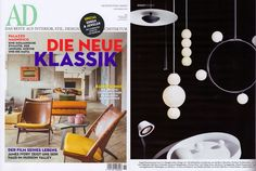 PEARLS Suspension Lamp photographed for AD Germany. Design by Benjamin Hopf. www.formagenda.com