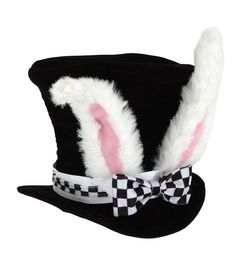 elope Kid's White Rabbit Topper Hat Easter Halloween Costume Accessory #elope #Halloween