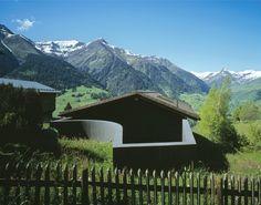Trancauna House / Morger Partner Architekten - Lumbrein, Switzerland