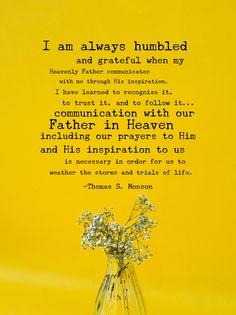#ldsquotes #presmonson #prayer #revelation