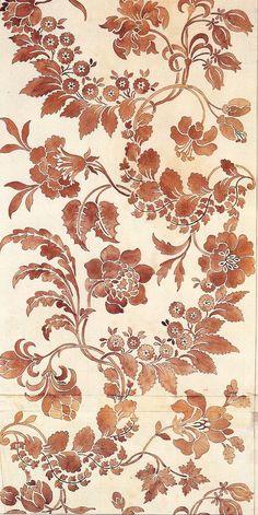 1751 Garthwaite Art Quill Studio: Woven Textile Designs In Britain (1750 to 1763) - Part II[1]ArtClothMarie-Therese Wisniowski