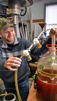 Brew clearer and better tasting beer, in less time, without waste or chemicals using the Bouncer Inline Beer Filter. Improves the taste and clarity of your beer by filtering trub, yeast, hops, and …