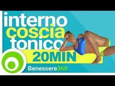 Interno Coscia Tonico: Esercizi Intensi a Casa per Dimagrire e Rassodare - 20 Minuti - YouTube