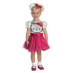 Hello Kitty Halloween Costumes for girls come in new designs each year. Even grown ups love her. Cute Baby Costumes, Toddler Costumes, Girl Costumes, Adult Costumes, Hello Kitty Halloween Costume, Halloween Costumes For Girls, More Cute, Mother And Child, Cute Babies