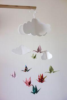 Suspension/mobile Origami