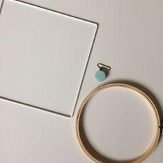 Tuto : comment crocheter autour d'un objet rigide (cadre ou autre support)
