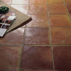 Terracotta flooring (with in-floor heating of course)