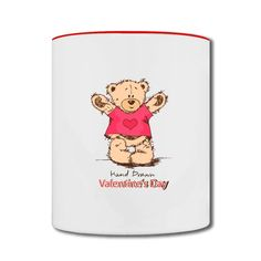Hand Drawn Winnie The Pooh Two-tone Mug Personalized-Funny Accessories with 98% happy customers! Create custom shirts and personalized goods at HICustom,Use our online designer to add your design, logos, or text. easily!