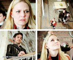 """Emma and Hook - 4 * 22 """"Operation Mongoose"""" #CaptainSwan"""