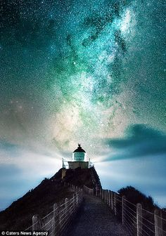 Stunning images show Milky Way illuminating New Zealand's night sky