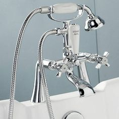 Hampshire Bath Shower Mixer - Victoria Plumb