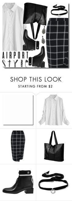 """""""Power Look"""" by soks ❤ liked on Polyvore featuring River Island, DANNIJO, girlpower and powerlook"""