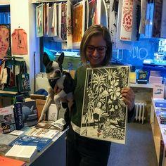 "I'm very proud to tell you that my prints from  Jungle Inside Out series are now available in @page_five_ store  in Prague7. I'm so excited! - Хочy поделиться с вами радостью! Мои принты из коллекции ""Jungle Inside Out"" теперь можно купить в чудесном магазине @page_five_ на Праге7. Ура! . . . #artprint #artposter #howartsitlooks #artstore #jungleinsideout #myjungle #jungleart #evgeniyapautova #wowyellow_art #leopardart #blackandwhiteart #artistanddog #savethejungle #illustratorartist… Yellow Art, Sketches, Create, Sketch, Doodles, Sketching, Drawing Reference"