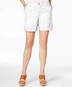 TOMMY HILFIGER Tommy Hilfiger Relaxed-Fit Cargo Shorts. #tommyhilfiger #cloth # shorts