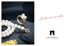 Ateliers Saint Germain - Jewels Made In France - Chic Fashion - Real Freswater Pearls -