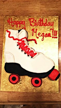 Roller skate Pull-A-Part! Pull Apart Cake, Pull Apart Cupcakes, Birthday Cakes, Birthday Ideas, Birthday Parties, Roller Skate Cake, Unique Cakes, Cake Flavors, Trifles