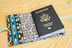 Unify Handmade: D.I.Y. Passport Cover
