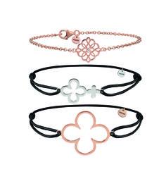 Hochgestapelt: Zarte #XENOX #Armbänder lassen sich individuell kombinieren nach dem Motto: Je mehr, desto besser. #bracelets #braceletparty #jewellery #jewelry #jewelrylover #jewelrytrends