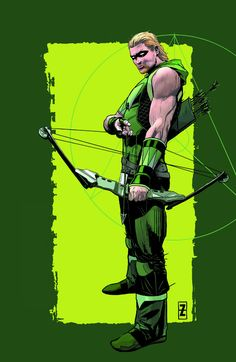 GREEN ARROW #41 Written by BEN PERCY Art and cover by PATRICK ZIRCHER