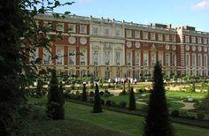 Hampton Court Palace gardens. So stunningly beautiful.