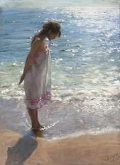 Female Pastel Paintings By Spanish Artist Vicente Romero Redondo