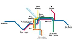 MAX System Map with Orange Line.