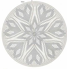 Corazon circular tapete