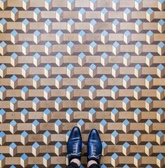 What do you think of when you think of Barcelona? Whatever it is, it probably isn't the floors.
