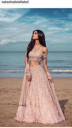 Beautiful Indian Ethnic Outfit for bride - Wedding Ceremony Indian Bridal Outfits, Indian Bridal Lehenga, Indian Designer Outfits, Indian Dresses, Indian Wedding Dresses, Indian Clothes, Indian Weddings, Indian Wedding Bridesmaids, Indian Wedding Planner