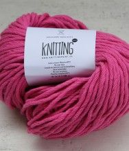 Algodón Knitting Point en color Fucsia