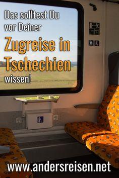 Viele Tipps für Deine Zugreise in Tschechien findest Du in diesem Beitrag. Wenn Du mit dem Zug Tschechien bereisen möchtest, dann entdecke hier Reisetipps, Infos zu Fahrplänen, Tickets und Zügen. #zugreise #zugreisen Czech Republic, Travel Report, Travel Advice, Knowledge