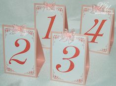 Hey, I found this really awesome Etsy listing at https://www.etsy.com/ru/listing/236748608/wedding-table-numbers-with-bow-blush