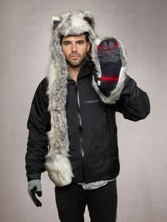 Spirit hood :: ADULTS :: F/W 2012-Men's :: Snow Arctic Fox