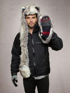 Spirit hood :: ADULTS :: F/W 2012-Men's :: Snow Arctic Fox
