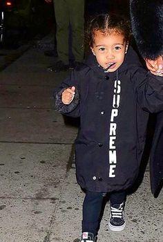 Pinterest// @1Jocelynn Kardashian Style, Kardashian Jenner, North West Kardashian, Kim And Kanye, Family Bonding, Girl Silhouette, Baby Boom, Celebrity Kids, Girl Swag