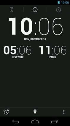 CLOCK JB+ (https://play.google.com/store/apps/details?id=com.moblynx.clockjbplus) is a very simple alarm clock app based on Jelly Bean Clock. Great Features: Simple Holo layout. Alarm Clock, Timer and Stop Watch in one. Integrated World Clock and Night mode. Lovely digital and analog clock widgets.