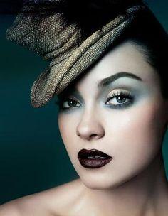 love this makeup by Francesca Tolot Line Mag No. 2 #spadelic #makeup #beauty