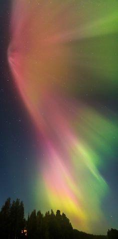 Kuopio, Finland: aurora borealis