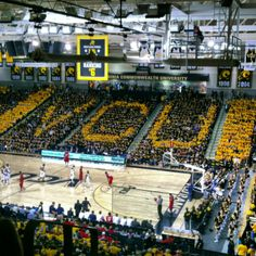 The Siegel Center provides an arena for sports events, concerts and career fairs; and administrative offices for the Department of Intercollegiate Athletics.