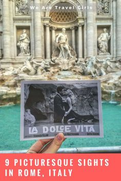 9 PICTURESQUE SIGHTS IN ROME, ITALY - Embark on a trip through Rome and unravel the marvelous secrets of the Eternal City. From the Trevi Fountain to the majestic Pantheon, each stunning piece of architecture astonishes viewers from around the world. Check out 9 of the top sights in Rome, Italy in this in depth blog post! By Liza Kofanova for http://WeAreTravelGirls.com
