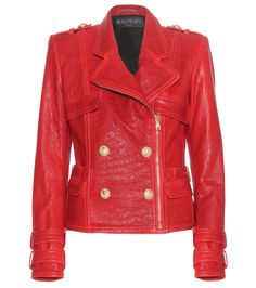 mytheresa.com - Leather jacket - Luxury Fashion for Women / Designer clothing, shoes, bags